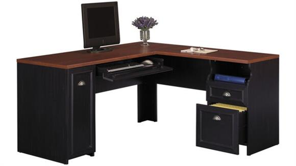 "L Shaped Desks Bush Furniture 60""W L-Shaped Desk"
