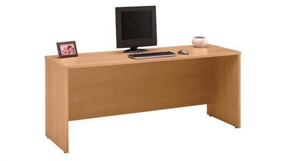 "Executive Desks Bush Furniture 72"" W x 24"" D Credenza Desk"