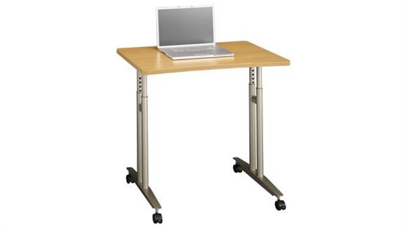 Training Tables Bush Furniture Adjustable Height Mobile Table
