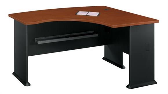 Modular Desks Bush Furniture Right L Bow Desk