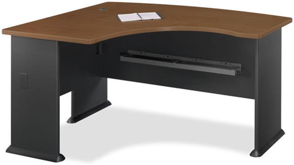 Modular Desks Bush Furniture Left L Bow Desk