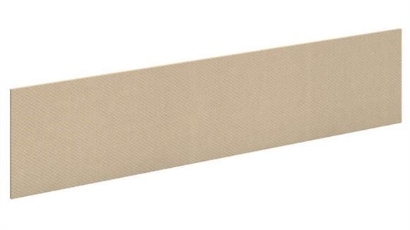 "Hutches Bush Furniture 72"" Fabric Tackboard"
