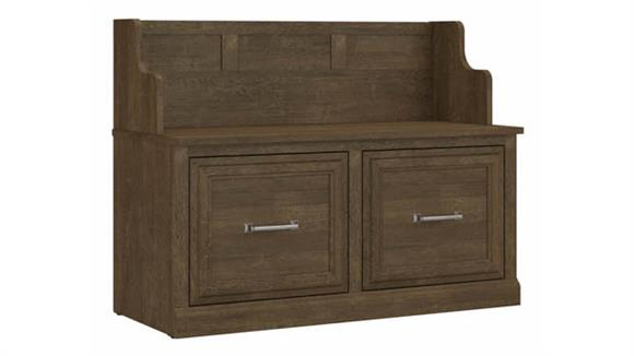 """Benches Bush Furniture 40""""W Entryway Bench with Doors"""