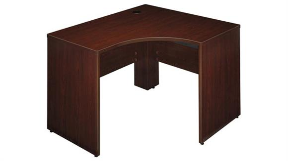 "Modular Desks Bush Furniture 47"" Left Corner Shell"