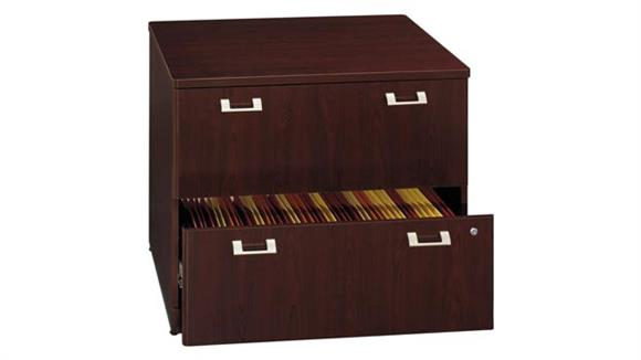 "File Cabinets Lateral Bush Furniture 36"" 2 Drawer Lateral File"