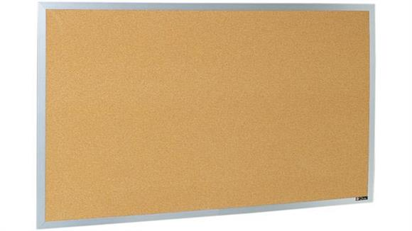 Bulletin & Display Boards Claridge 4 x 12 Aluminum Framed Bulletin Board