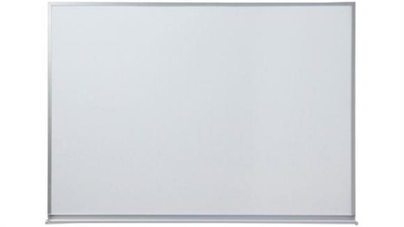 White Boards & Marker Boards Claridge 4 x 12 Porcelain Markerboard