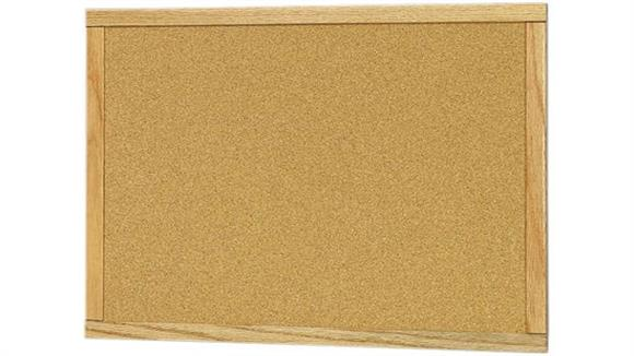 Bulletin & Display Boards Claridge 24 x 36 Wood Framed Bulletin Board