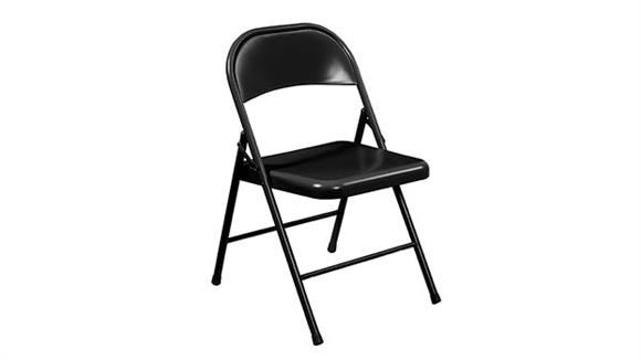 Folding Chairs Commercialine All Steel Folding Chair