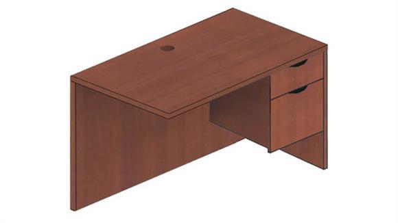 "Desk Parts & Accessories Candex 42"" x 20"" Return"