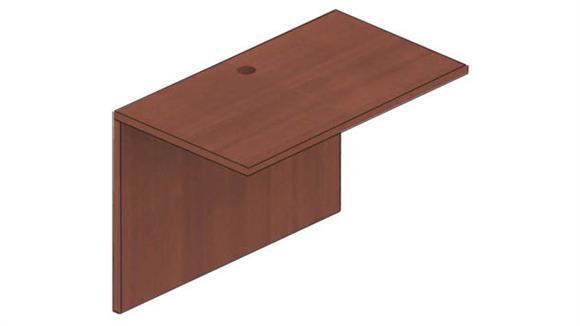 "Desk Parts & Accessories Candex 42""W x 24""D Bridge and Modesty Panel"