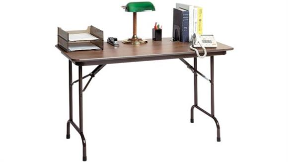 "Folding Tables Correll 36"" x 24"" Keyboard Height Folding Table"