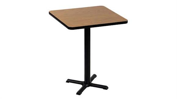 "Cafeteria Tables Correll 24"" Square Standing Height Cafe and Breakroom Table"