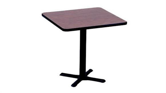 "Cafeteria Tables Correll 24"" Square Cafe and Breakroom Table"