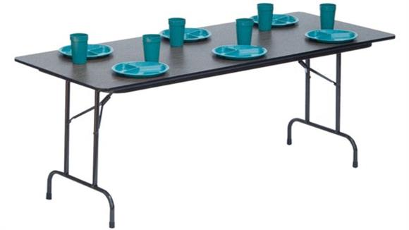 "Folding Tables Correll 60"" x 30"" Heavy Duty Folding Table"