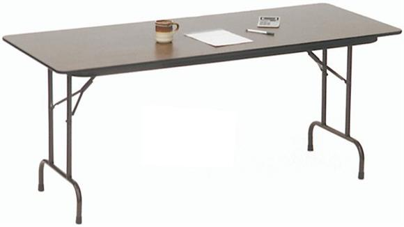 "Folding Tables Correll 60"" x 18"" Folding Table"