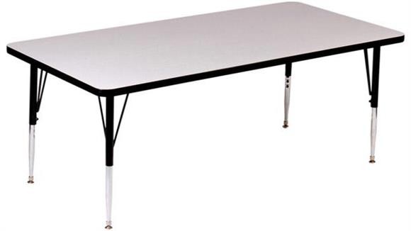 "Activity Tables Correll 36"" x 24"" Rectangular Activity Table"