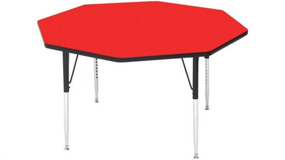 "Activity Tables Correll 48"" Octagonal Activity Table"