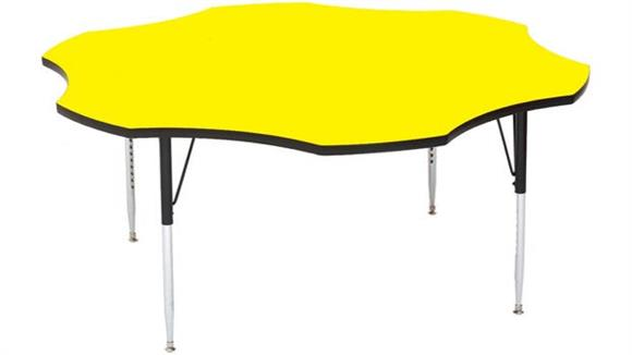 """Activity Tables Correll 60"""" Flower Shaped Activity Table"""