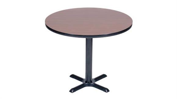 "Cafeteria Tables Correll 42"" Round Cafe and Breakroom Table"
