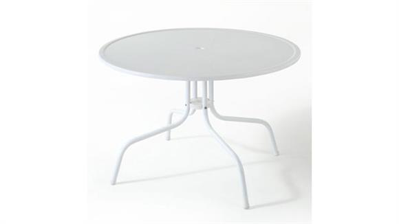 "Patio Tables Crosley  Griffith Metal 40"" Outdoor Dining Table"