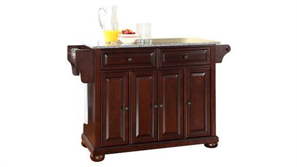 Kitchen Islands Crosley  Alexandria Solid Granite Top Kitchen Island