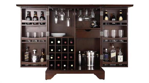 Home Bars Crosley  LaFayette Expandable Bar Cabinet