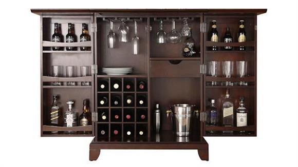 Home Bars Crosley  Newport Expandable Bar Cabinet