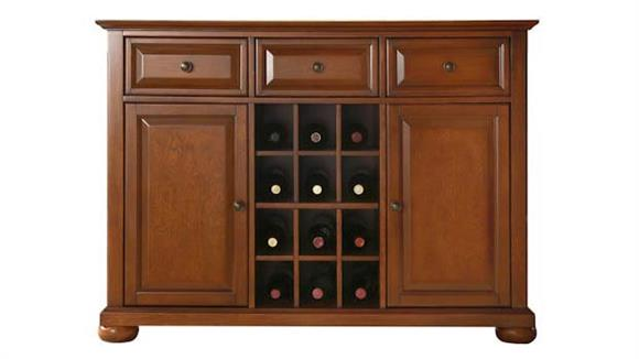 Buffets Crosley  Alexandria Buffet with Wine Storage