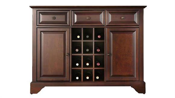 Buffets Crosley  LaFayette Buffet with Wine Storage