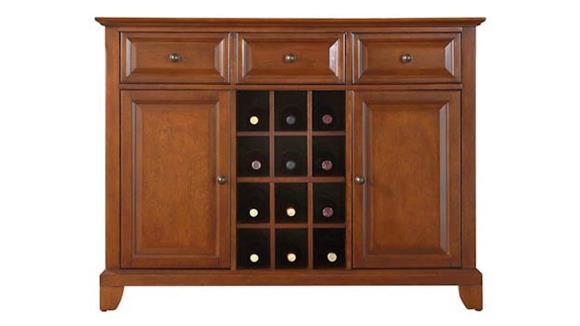 Buffets Crosley  Newport Buffet with Wine Storage