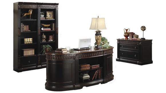 Executive Desks Coaster Furniture Three Piece Executive Office Set