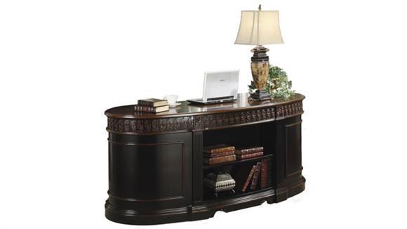 Executive Desks Coaster Furniture Oval Shaped Executive Desk