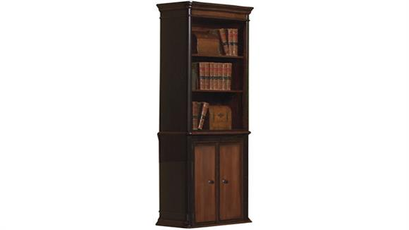 Bookcases Coaster Furniture Wood Bookcase with Doors