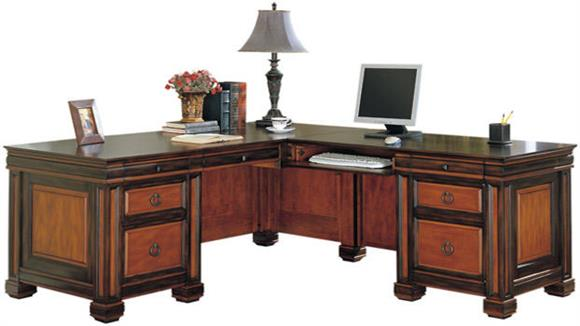 L Shaped Desks Coaster Furniture Wood L Shaped Desk