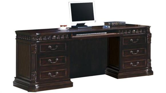 "Office Credenzas Coaster Furniture 72"" Computer Credenza"