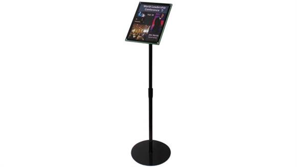 Magazine & Literature Storage Deflecto Telescoping Sign Display
