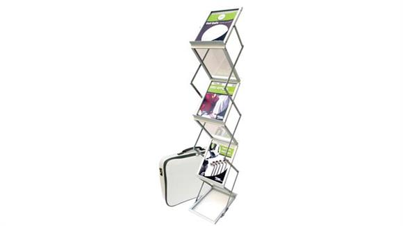Magazine & Literature Storage Deflecto Magazine Size Portable Literature Display