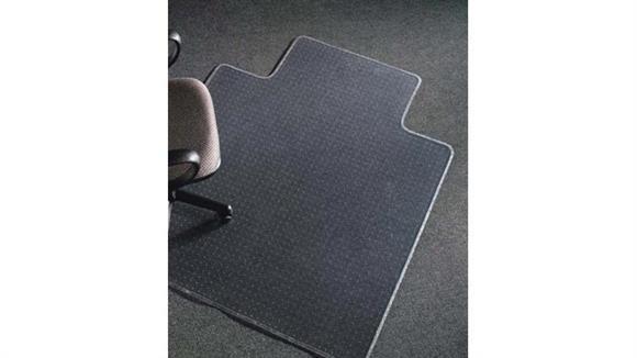 "Chair Mats Deflecto 36"" x 48"" Chairmat with Lip"