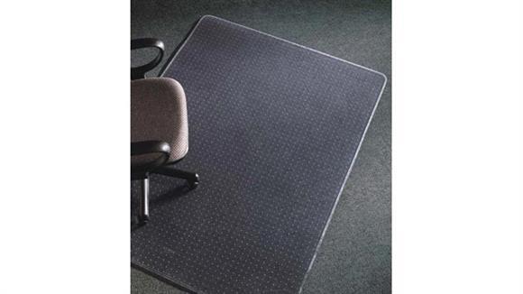 """Chair Mats Deflecto 46"""" x 60"""" Rectangular Chairmat"""