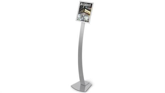 Magazine & Literature Storage Deflecto Magazine Size Contemporary Sign Display