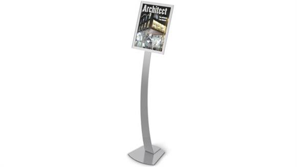 Magazine & Literature Storage Deflecto Oversize Contemporary Sign Display
