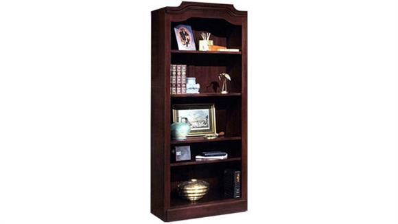 Bookcases DMI Office Furniture Traditional Style 5 Shelf Bookcase