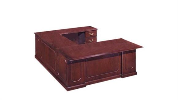 U Shaped Desks DMI Office Furniture Executive U Shaped Desk
