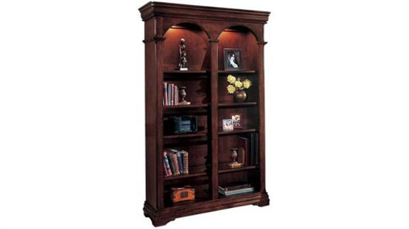 "Bookcases DMI Office Furniture 78"" H Double Bookcase"