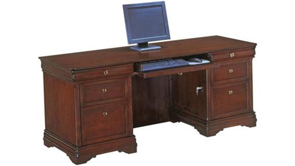 Office Credenzas DMI Office Furniture Rue De Lyon Kneehole Credenza