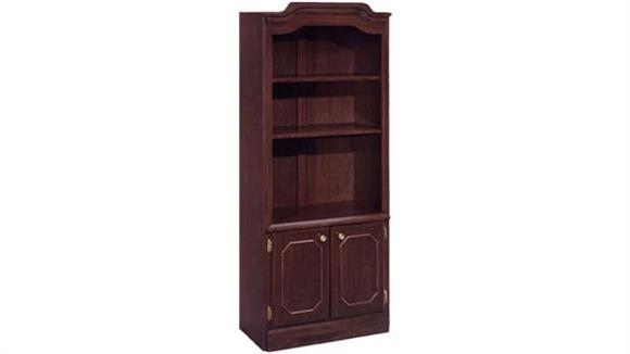 Bookcases DMI Office Furniture Traditional Style Bookcase with Doors