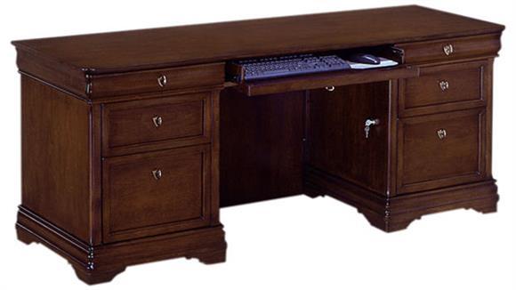 Office Credenzas DMI Office Furniture Rue De Lyon Kneehole Credenza