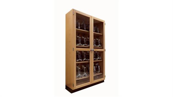 Storage Cabinets Diversified Woodcrafts Microscope Storage Cabinet