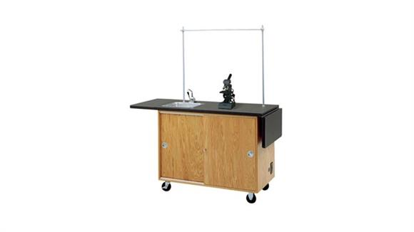 Science & Lab Tables Diversified Woodcrafts Mobile Laboratory Unit
